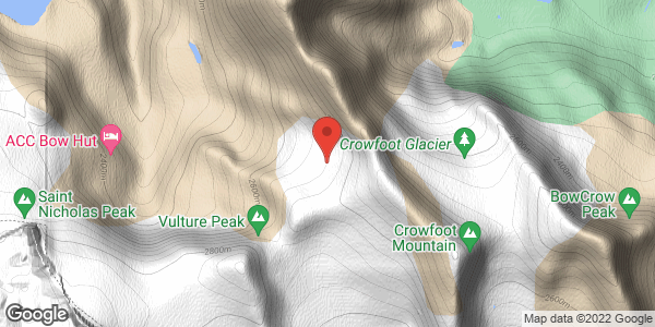 Little Crowfoot Glacier
