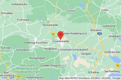 Karte Finsterwalde