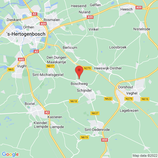 Brabant Boys Cup 2021 map