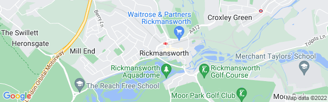 Map Of Rickmansworth