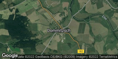 Google Map of Dommitzsch