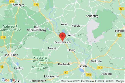 Karte Dommitzsch