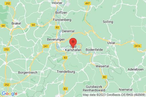 Karte Bad Karlshafen