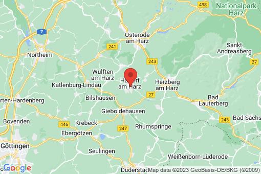 Karte Hattorf am Harz