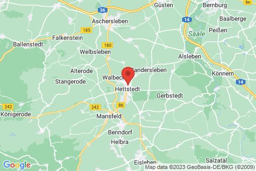 Karte Hettstedt