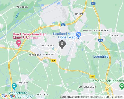 Google Karte von Schlüsseldienst Marl