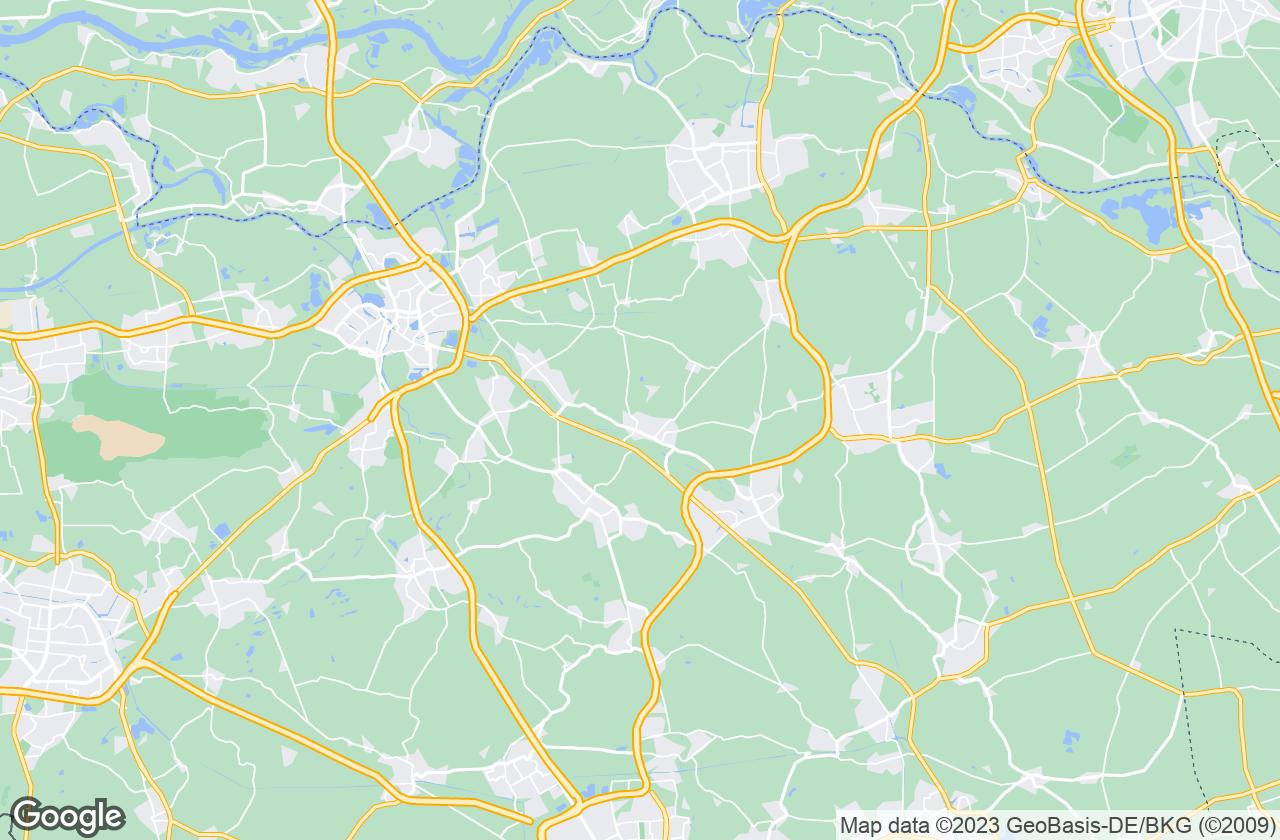 Google Map of Heeswijk-Dinther