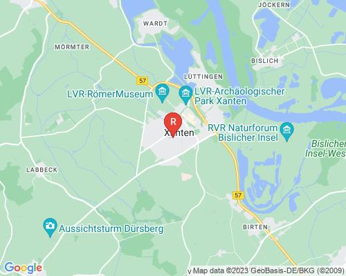 Google Karte von Rohrreinigung Xanten