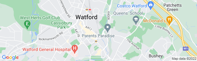Map Of Watford