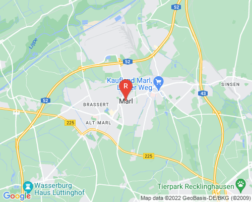 Google Karte von Rohrreinigung Marl