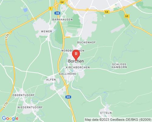 Google Karte von Rohrreinigung Borchen