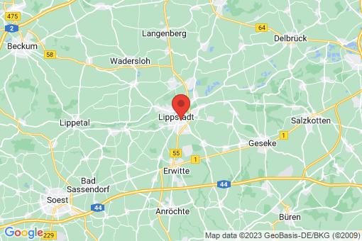 Karte Lippstadt