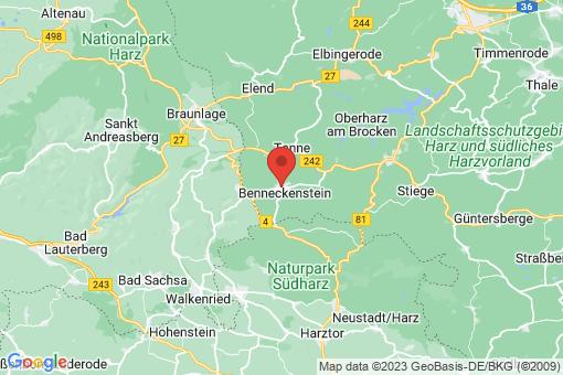 Karte Benneckenstein