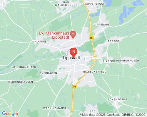 Google Karte von Rohrreinigung Lippstadt