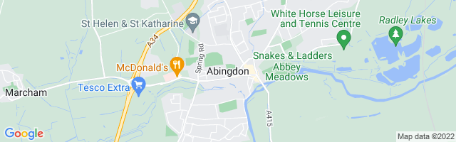 Map Of Abingdon