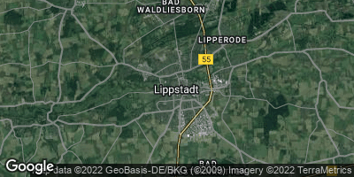 Google Map of Lippstadt
