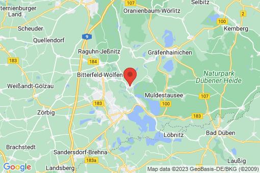 Karte Muldenstein