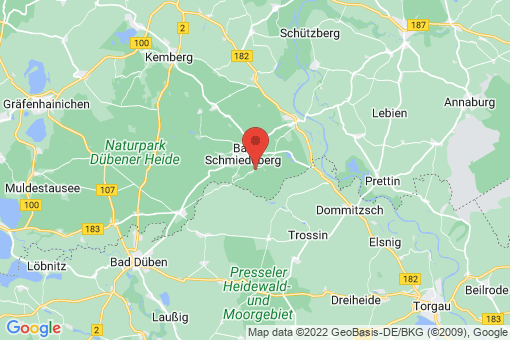 Karte Korgau