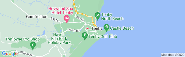 Map Of Tenby
