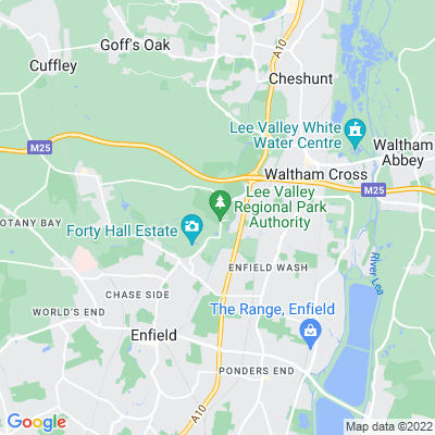 Myddelton House Location