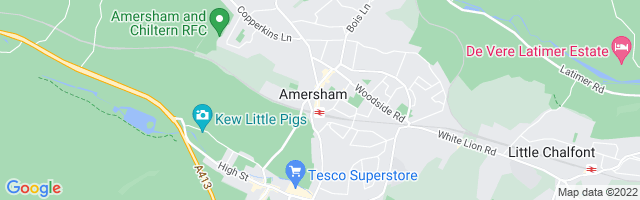 Map Of Amersham