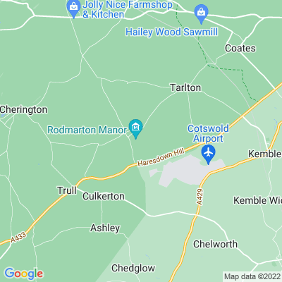 Rodmarton Manor Location