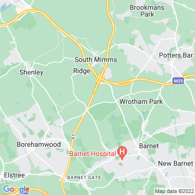 Dyrham Location