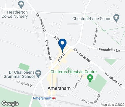Map of 69 Sycamore Road in Amersham