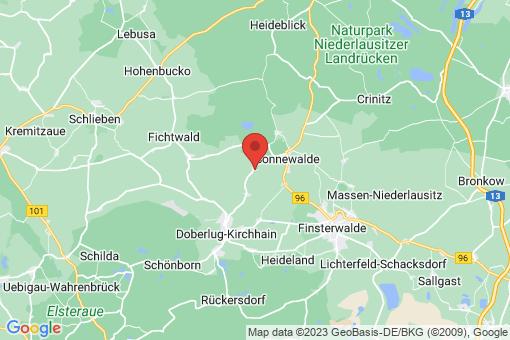 Karte Schönewalde
