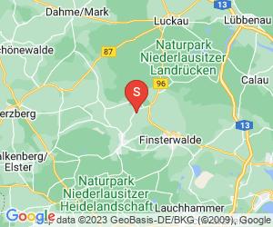Karte für Erlebnishof Schönewalde