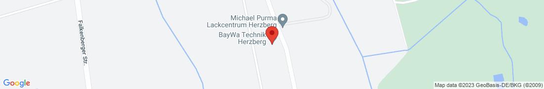 BayWa Technik Herzberg Anfahrt