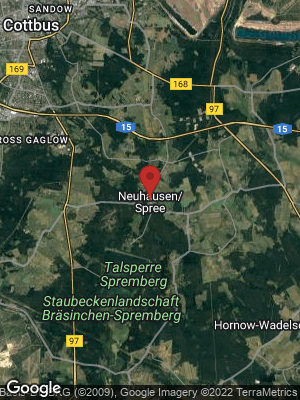 Google Map of Neuhausen / Spree