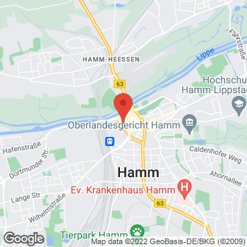 Map of Sidestep Hamm at Richard-Matthaei-Platz 1, Hamm,  59065