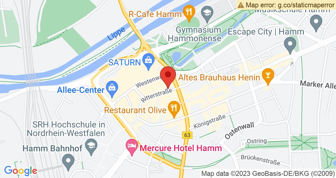 Google Map Unterwegs AG Unterwegs Hamm