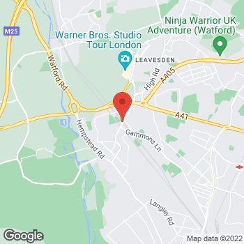 Map of Bargain Booze Courtlands Drive at 111 Courtlands Drive, Watford, London WD17 4HZ