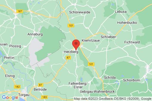 Karte Herzberg (Elster)