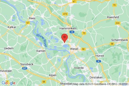 Karte Wesel