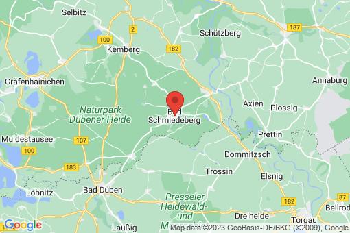 Karte Bad Schmiedeberg
