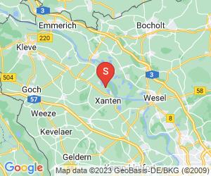 Karte für Freizeit Zentrum Xanten