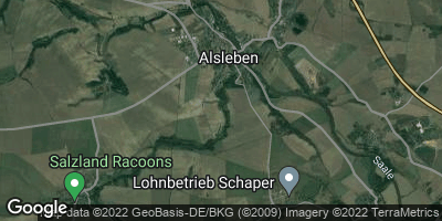 Google Map of Alsleben