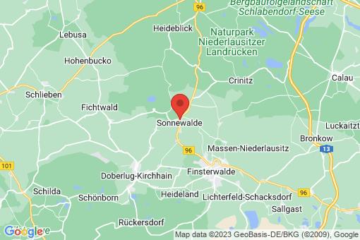 Karte Sonnewalde