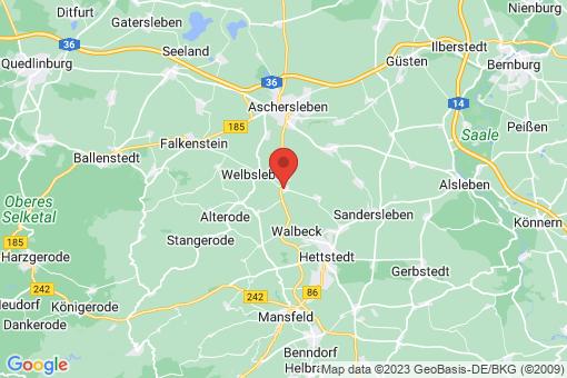 Karte Quenstedt