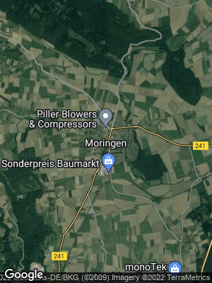 Google Map of Moringen