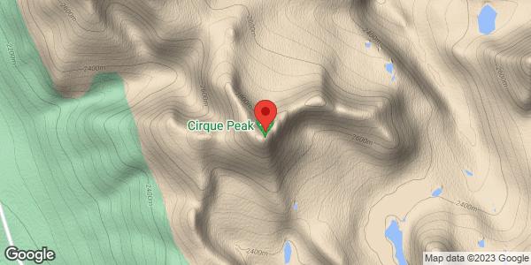 Cirque Peak N glacier