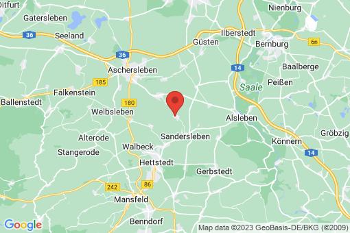 Karte Freckleben