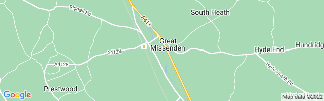 Map Of Great Missenden