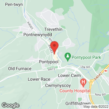 Map of wilko Pontypool at Unit 2/3 Crane Street, Pontypool, South Wales NP4 6LY
