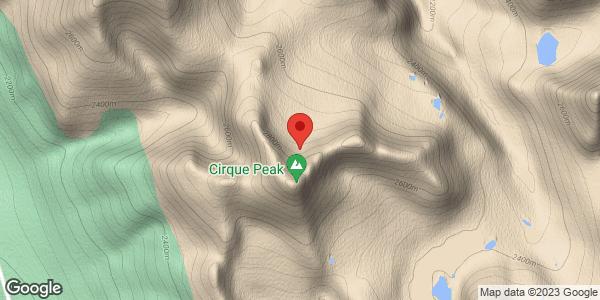Cirque Peak Area Conditions