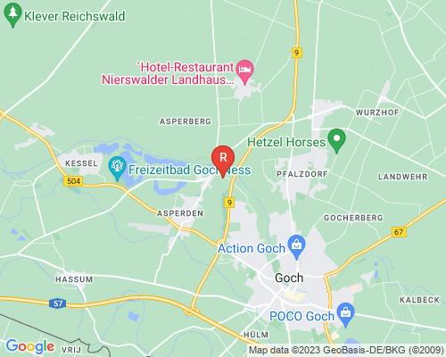 Google Karte von Rohrreinigung Goch