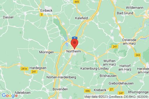 Karte Northeim